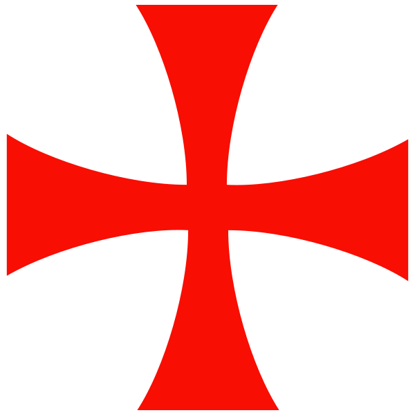 Crusader cross clipart png library library File:Knights Templar Cross.svg | Templars | Pinterest | Knights ... png library library
