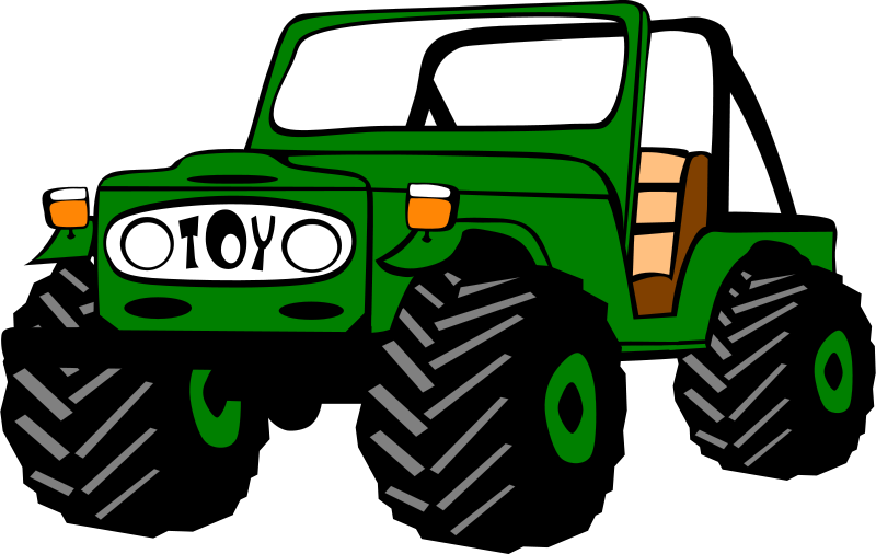 Muddy car clipart graphic royalty free Toyota Land Cruiser by Gerald_G - car, clip art, clipart, jeep ... graphic royalty free