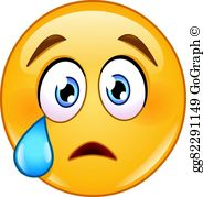 Crying clipart face picture library Crying Face Clip Art - Royalty Free - GoGraph picture library
