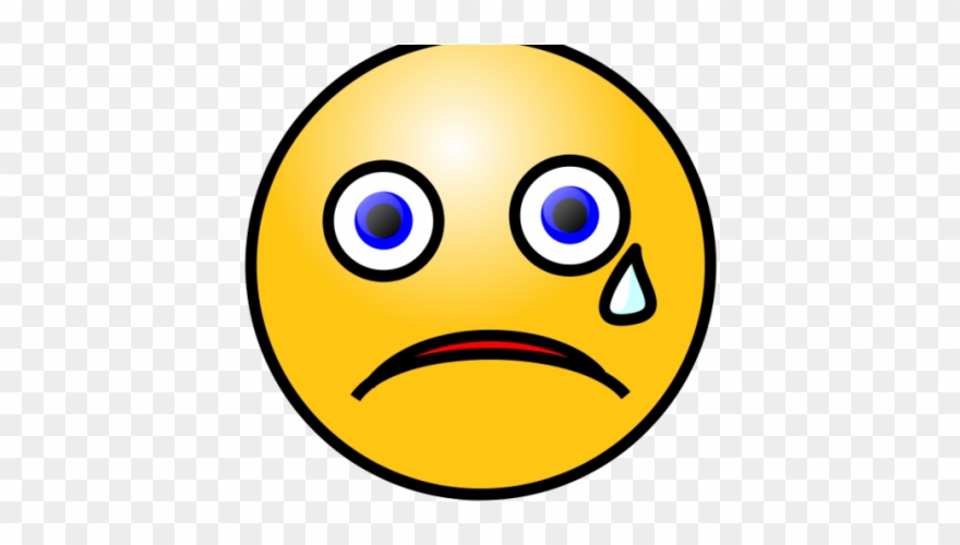 Crying clipart face vector transparent stock Crying Clipart Clip Art - Sad Face Clipart Png Gif ... vector transparent stock