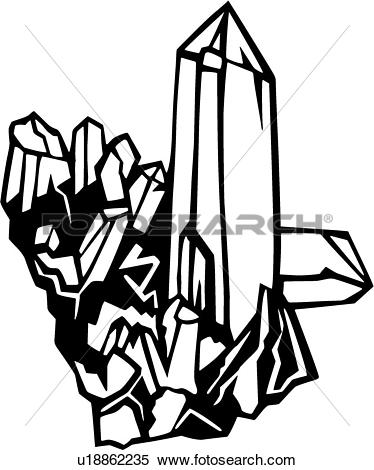 Crystal graphics clipart png library Clipart of , crystal, quartz, sea, environmental, u18862235 ... png library