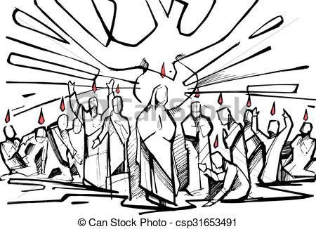 Csp clipart image royalty free download Pentecost Symbols Clipart Drawing Csp - Clipart1001 - Free Cliparts image royalty free download