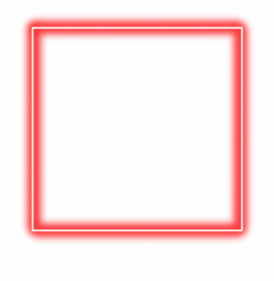 Cuadro neon clipart jpg freeuse download red #neon #square #border #png #freetoedit - Neon Square Png ... jpg freeuse download