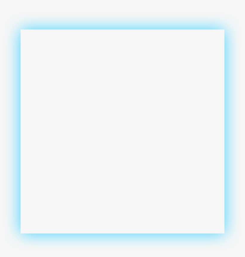 Cuadro neon clipart svg royalty free library Square Frame Transparent Png - Blue Neon Frame Png ... svg royalty free library