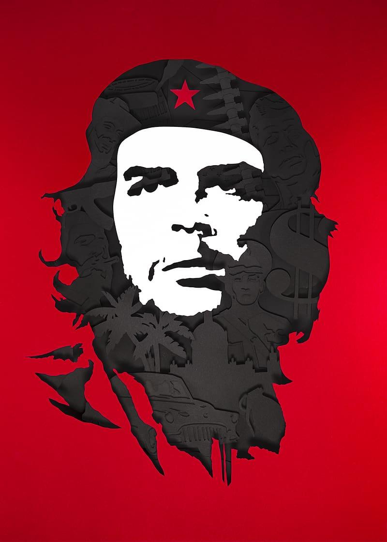 Che Guevara Rosario Cuban Revolution Guerrilla Warfare, che ... banner free stock