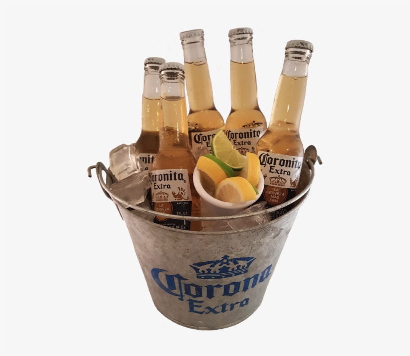 Cubeta de cerveza clipart png download Cubeta De Coronas - Cubetas De Cervezas Png - 500x680 PNG Download ... png download
