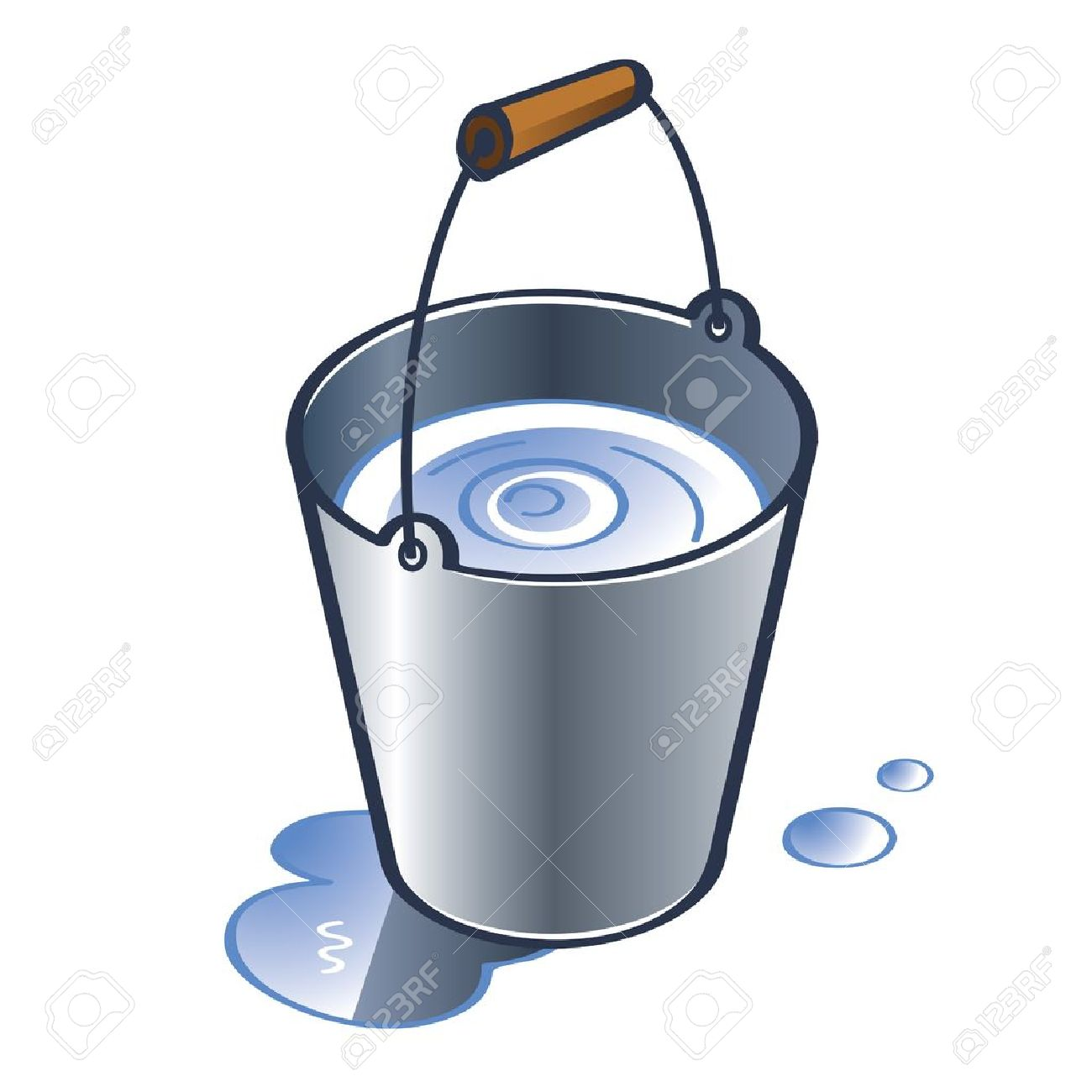 Cubetas clipart png freeuse Water bucket clipart 4 » Clipart Station png freeuse