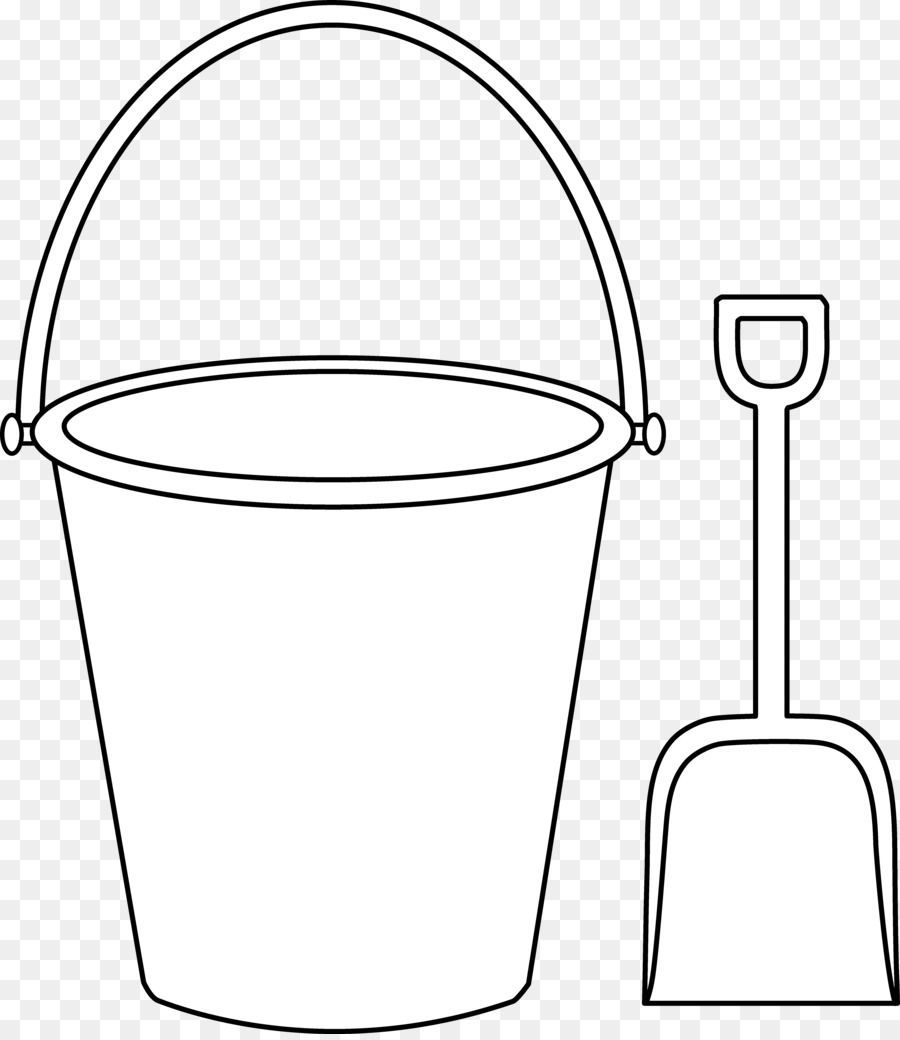 Book Black And White clipart - Bucket, Shovel, Sand, transparent ... graphic royalty free
