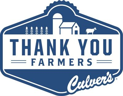 Culvers logo clipart picture transparent library Culver\'s Thanks American Farm Families In More Than 220,735 ... picture transparent library