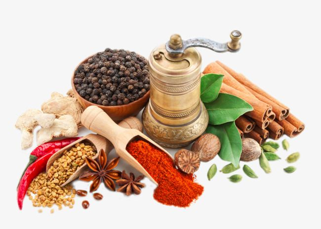 Cooking Spices, Cooking Clipart, Cumin Powder, Pepper PNG ... banner royalty free