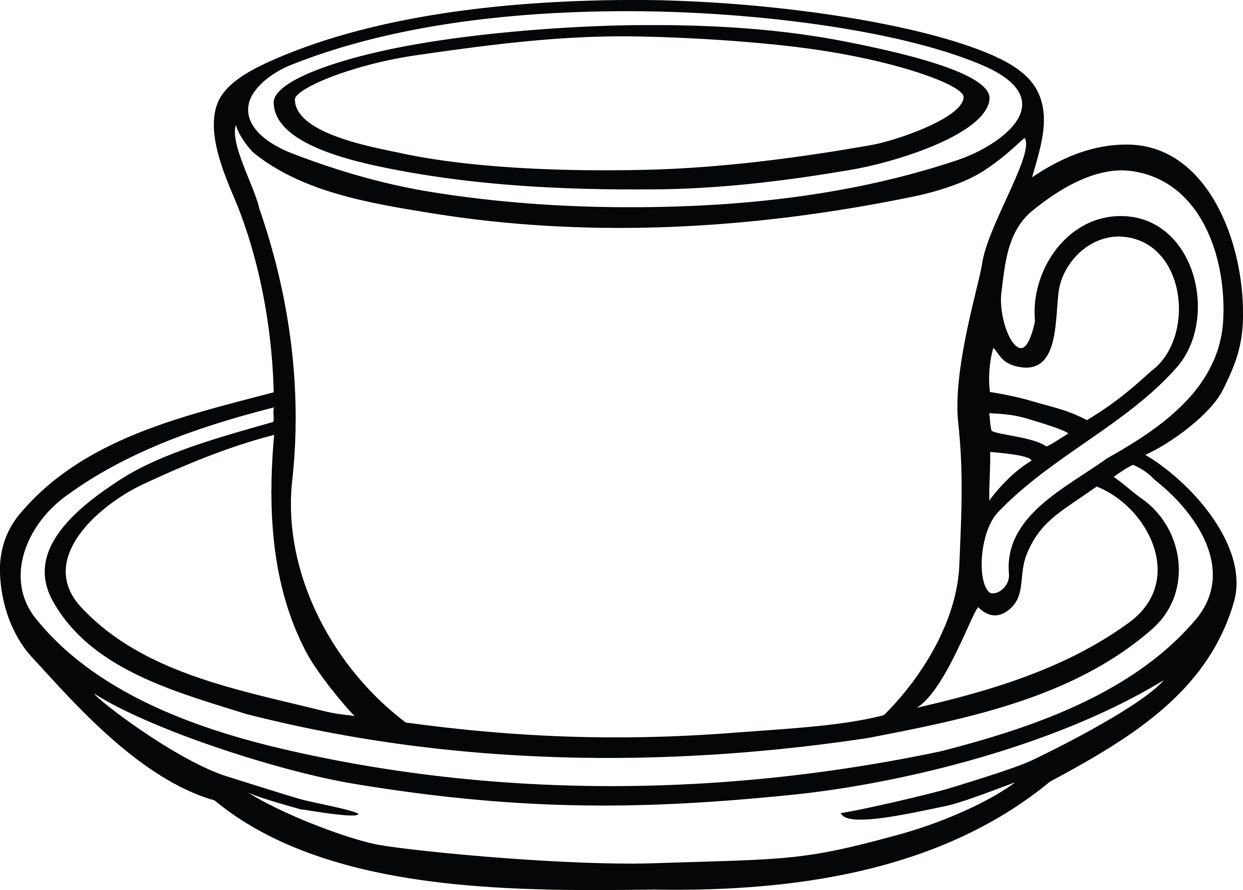 Cup And Saucer Drawing | Free download best Cup And Saucer ... picture download