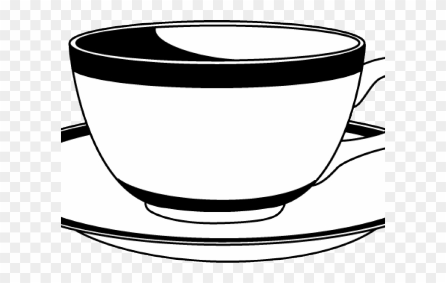 Saucer Clipart Tasa - Cup And Saucer Clipart - Png Download ... clip library