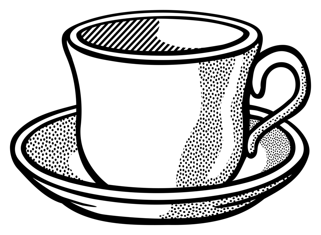 Line Art,Dinnerware Set,Cup Vector Clipart - Free to modify ... vector free download