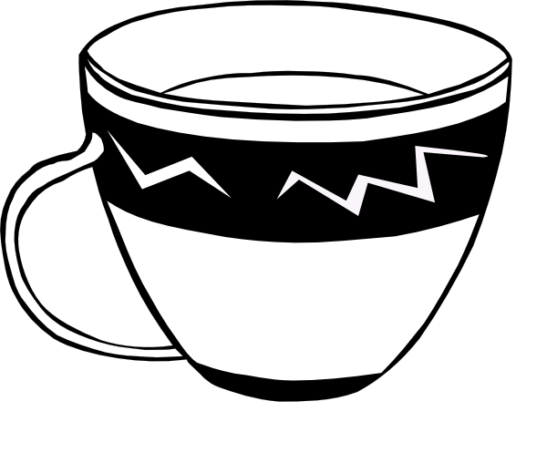 Cup clipart black and white image black and white download PNG Cup Black And White Transparent Cup Black And White.PNG ... image black and white download