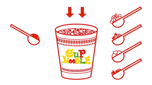 Cup noodles clipart clip art library stock My CUPNOODLES Factory | CUPNOODLES MUSEUM OSAKA IKEDA clip art library stock