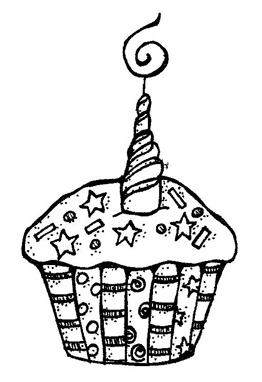 Cupcake 2 candles clipart black and white clipart black and white Candle black and white cupcake clipart black and white 2 ... clipart black and white