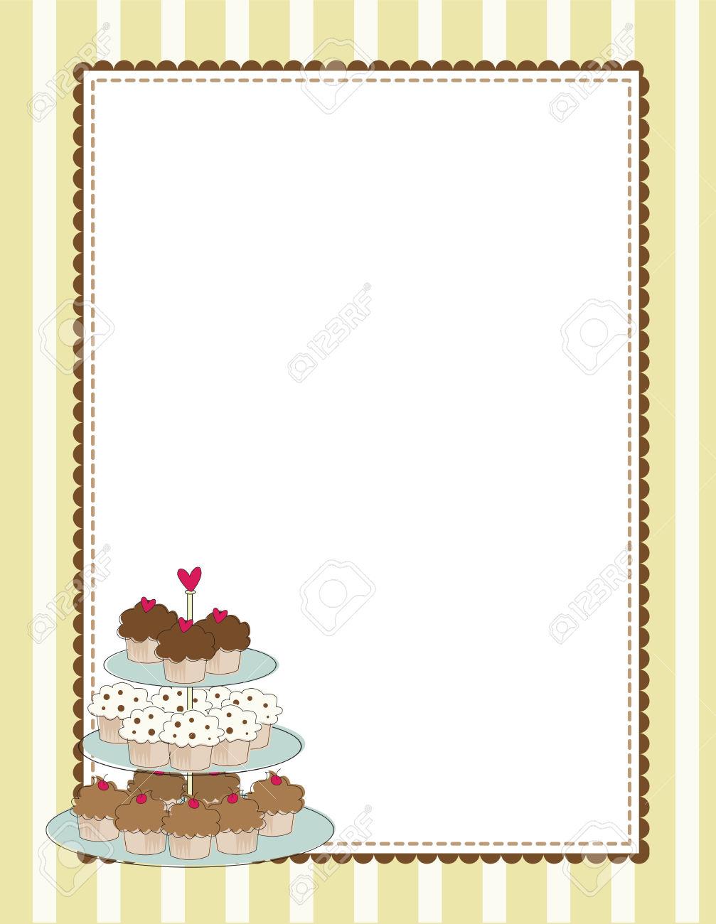 Cupcake border clipart free transparent download Best Cupcake Border Clip Art #21230 - Clipartion.com transparent download
