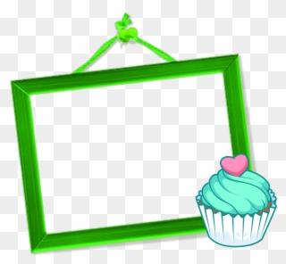 Cupcake border clipart free svg royalty free download Free PNG Cupcakes Border Clip Art Download - PinClipart svg royalty free download