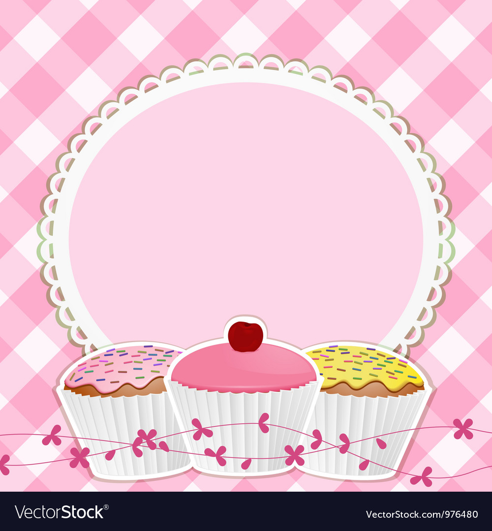 Cupcake border clipart free clip free Cupcakes Background clip free