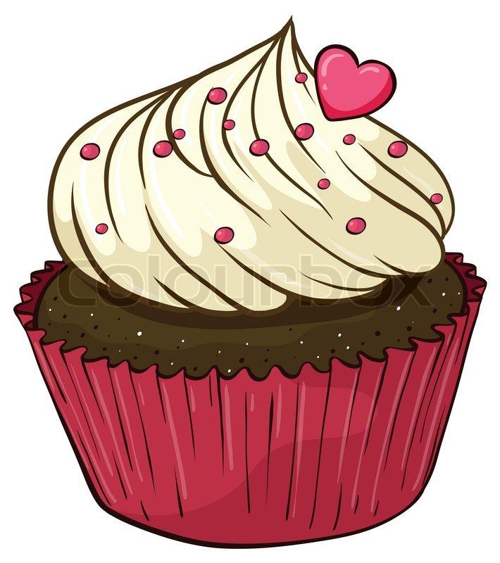 Cupcake geburtstag clipart. Clipartfest stockvektor von