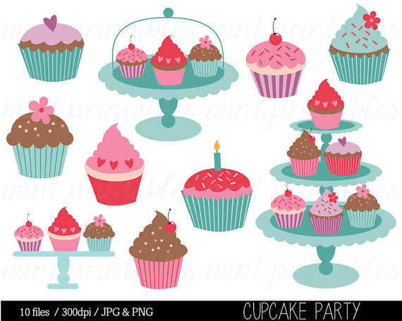 Cupcake geburtstag clipart png free stock 17 Best images about muffins on Pinterest | Clip art, Graphics and ... png free stock