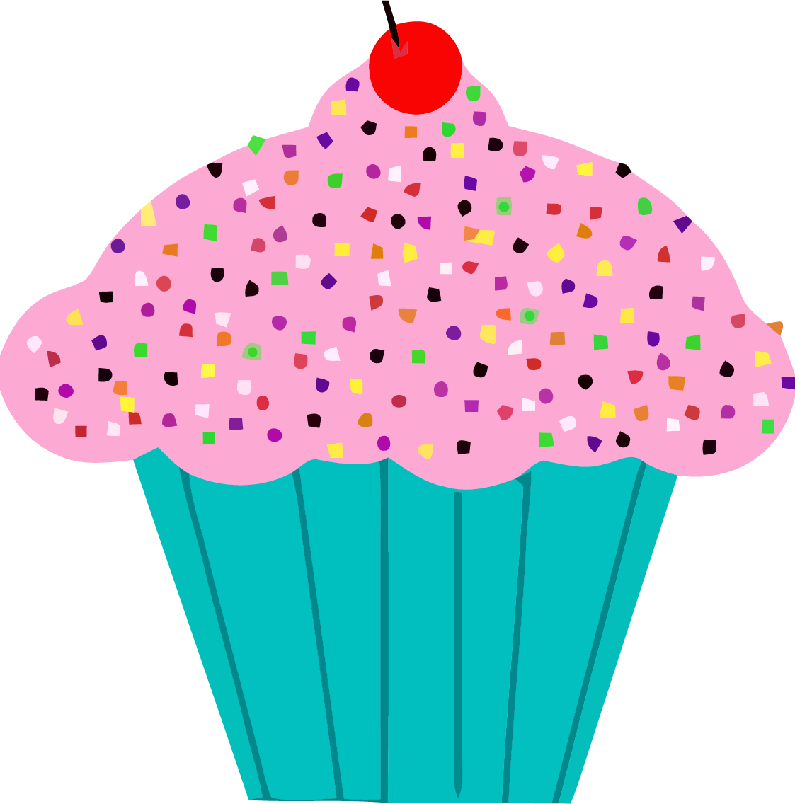Cupcake graphics clipart jpg freeuse library Cupcake Graphics Clipart - Making-The-Web.com jpg freeuse library