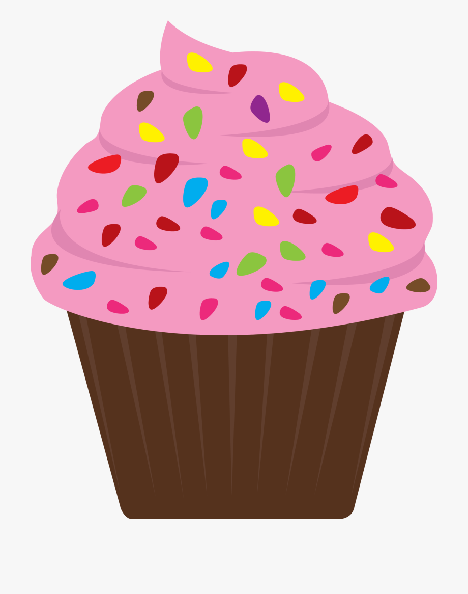 Cupcake sprinkles clipart image royalty free download Jpg Royalty Free Library Top Array With Cheap X Cupcake - Clipart ... image royalty free download