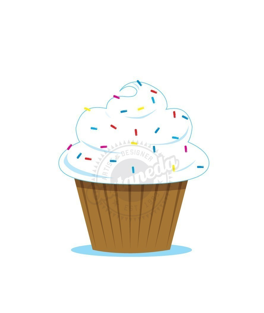 Cupcake sprinkles clipart image freeuse library Cupcake sprinkles clipart free - Clip Art Library image freeuse library