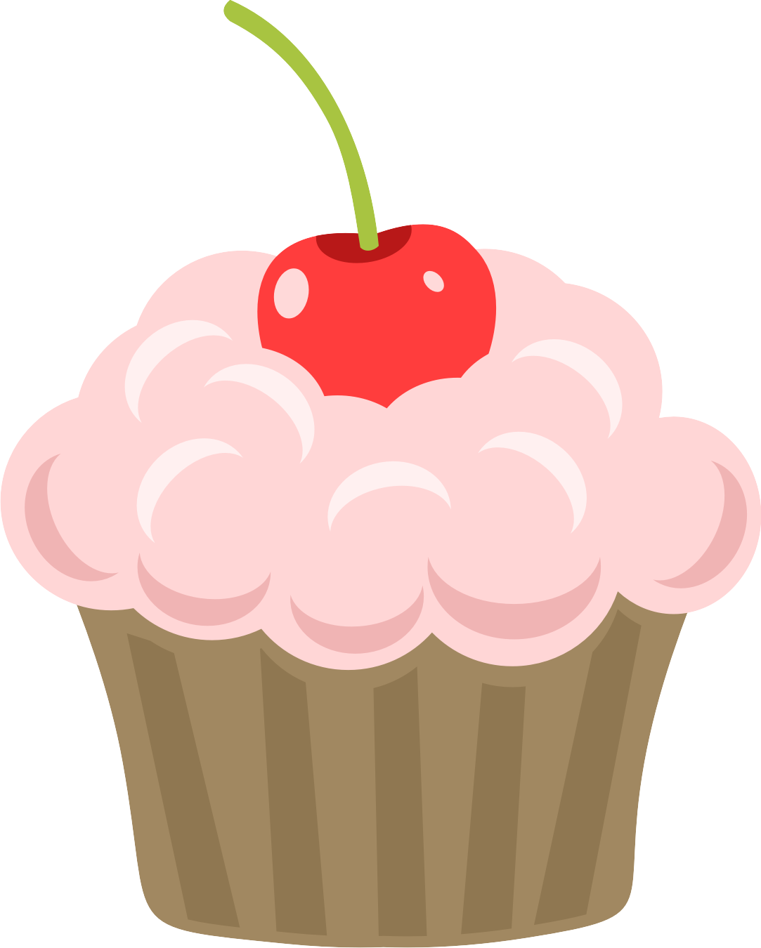 Cupcake tree clipart. Free printable at getdrawings