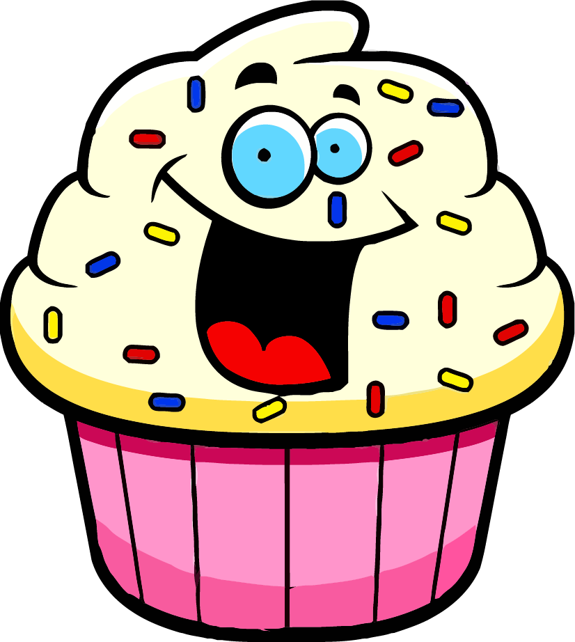 Cupcake tree clipart clip royalty free library Cartoon Cupcake Clipart   Clipartly.com clip royalty free library