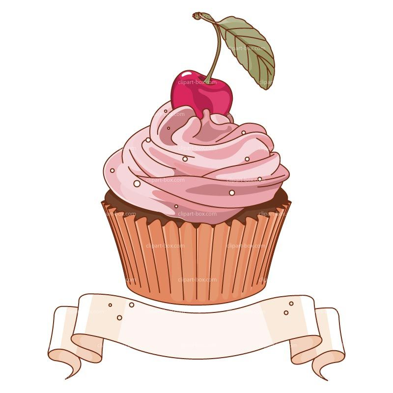 Clipart Cupcake Banner Royalty Free Vector Design | Drawing ... clip art freeuse download
