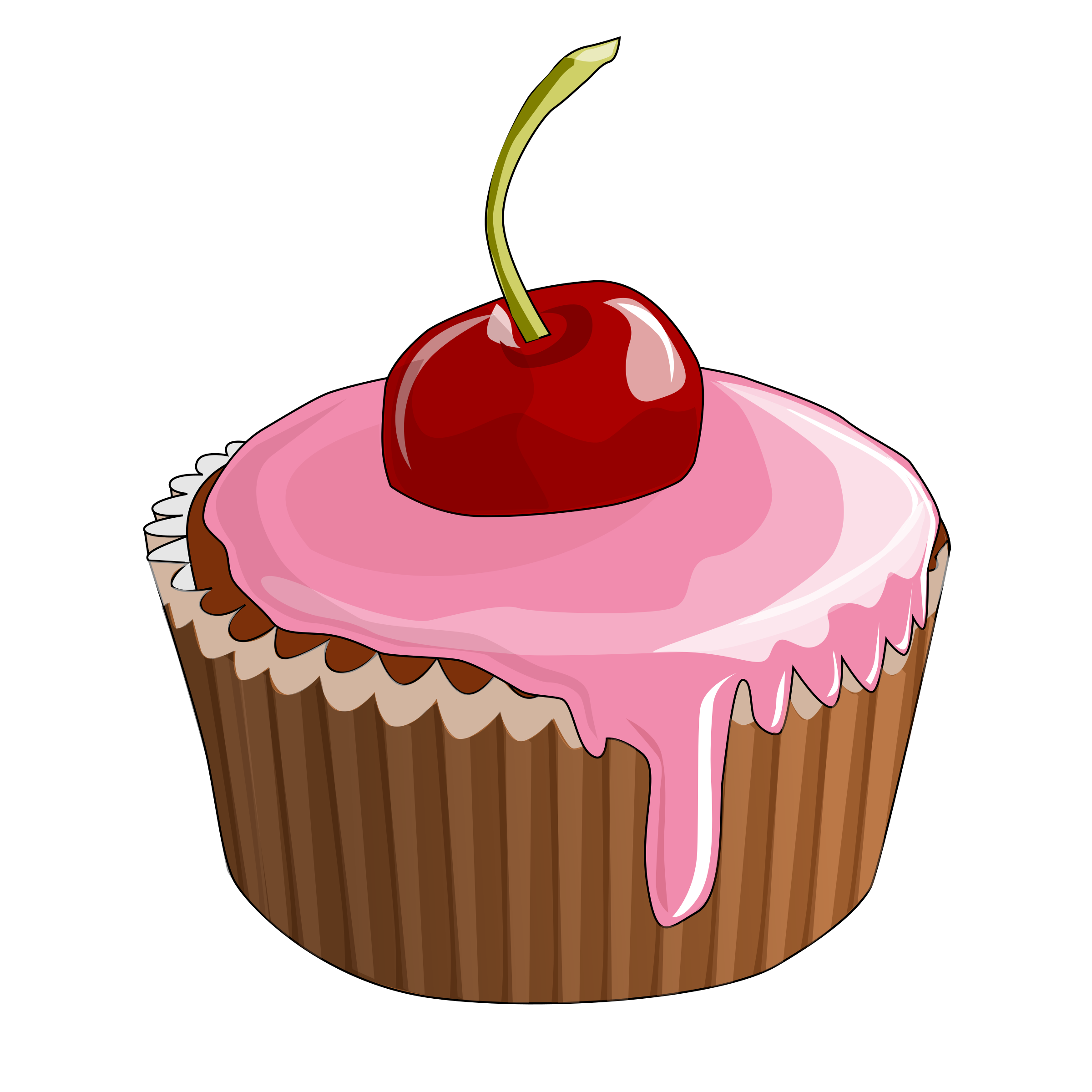 Cherry Cupcake Vector Clipart image - Free stock photo - Public ... image library
