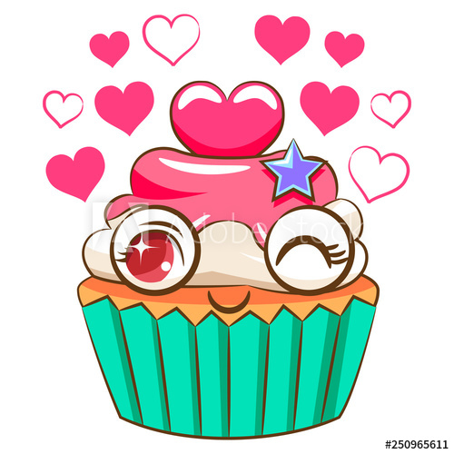 cupcake vector clipart - Buy this stock vector and explore similar ... clipart freeuse stock