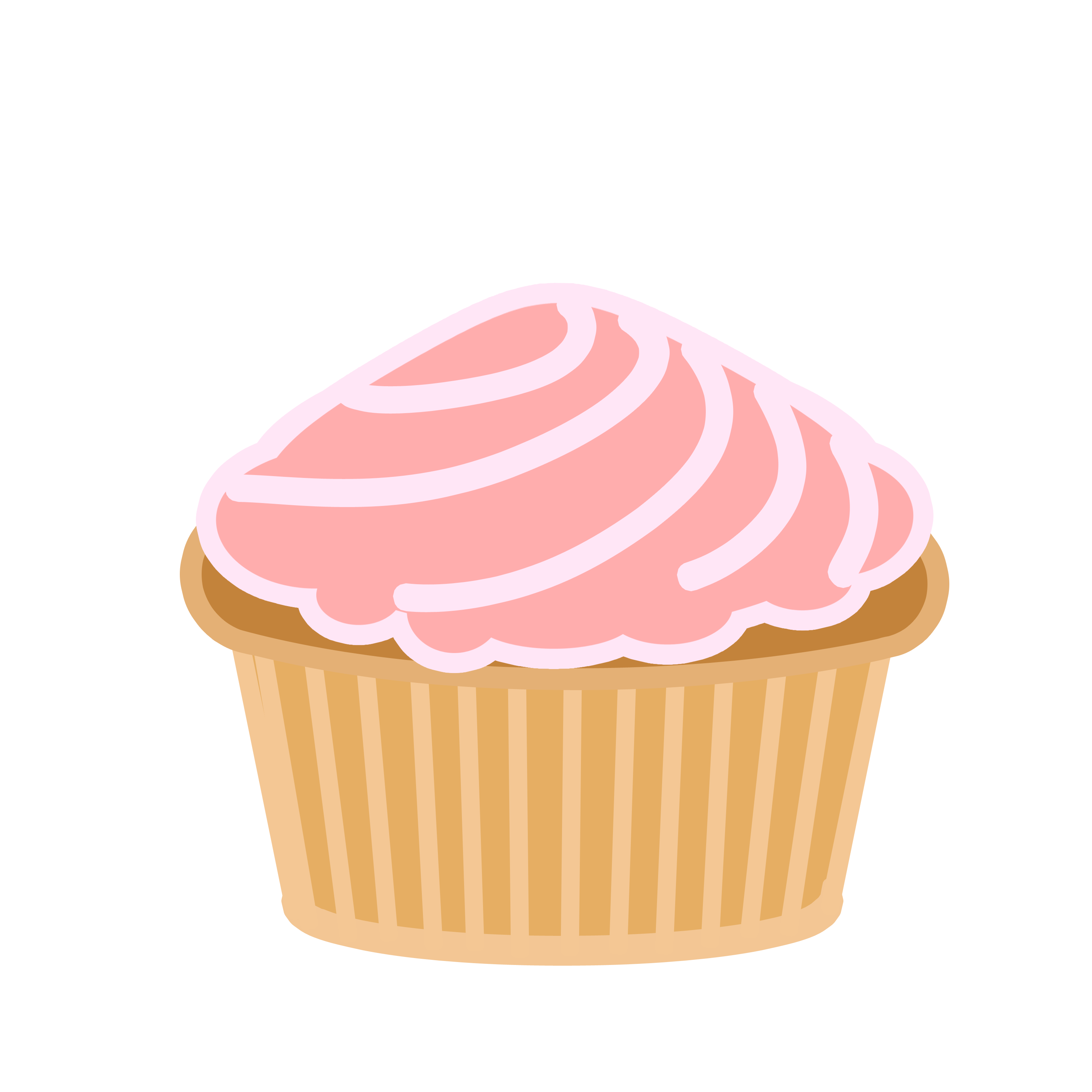 Cupcake with crown clipart clip freeuse library Cupcake Animation Group (41+) clip freeuse library