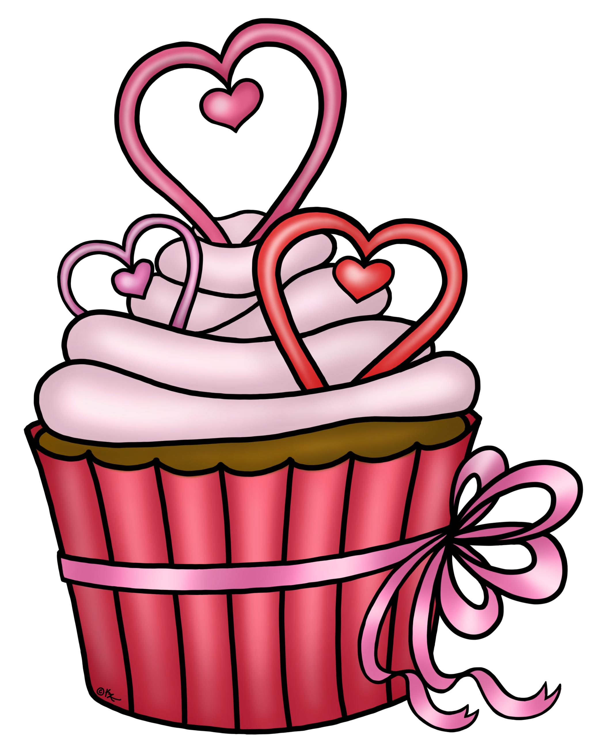 Heart cake clipart banner freeuse stock Cupcake-PNG :) | YİYECEK İÇECEK 1 ( food and drink ) | Pinterest ... banner freeuse stock