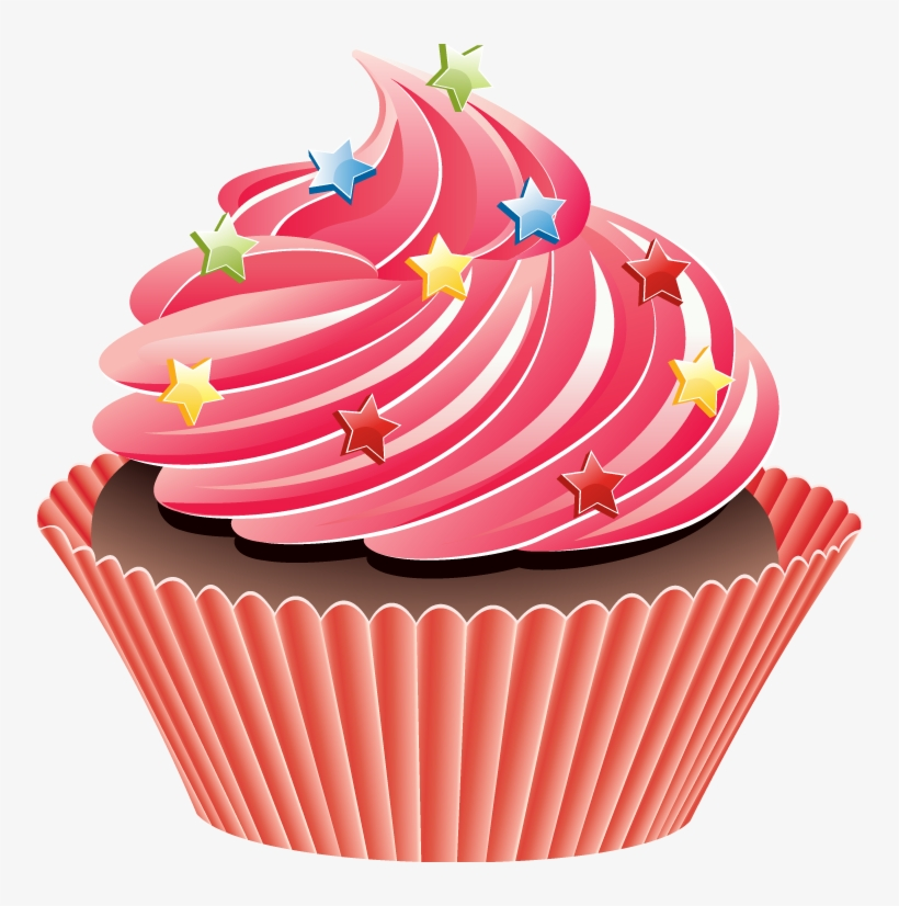Cupcakes clipart clipart royalty free library Cupcakes Clipart Transparent Background - Best Cake Photos clipart royalty free library
