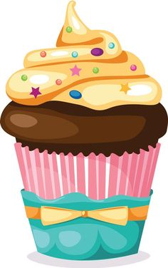 Cupcakes clipart png 1222 Best Cupcake- Clip Art images in 2018   Cupcake art, Cupcakes ... png
