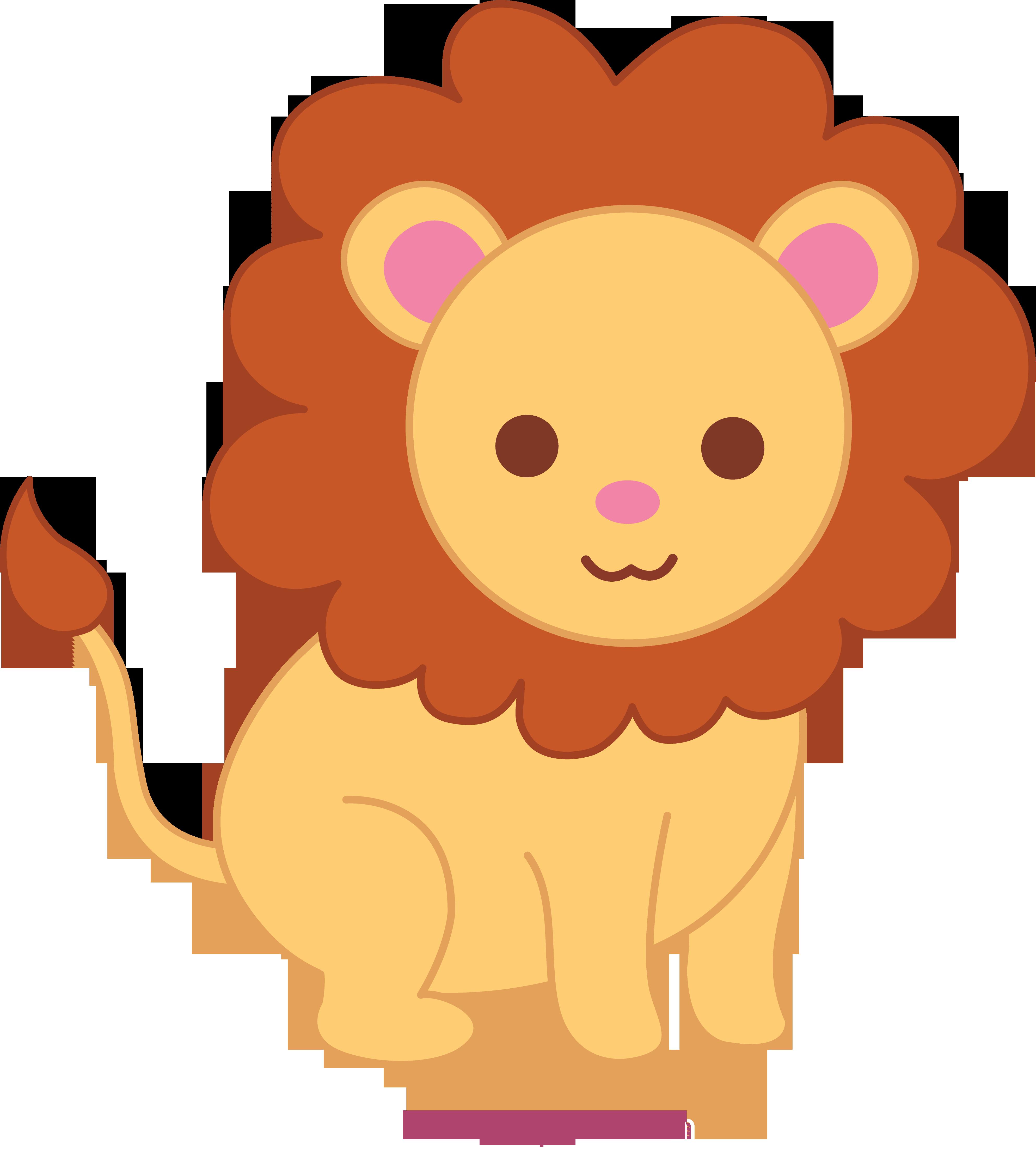 Curelion clipart clip art library stock Cute Lion Clip Art - Free Clip Art clip art library stock
