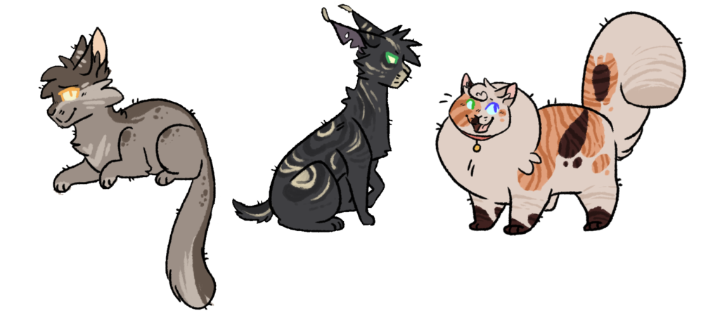 Curiosity killed the cat clipart banner freeuse stock Free Warrior cats Adopts || WTA || by Buff-Spud on DeviantArt banner freeuse stock
