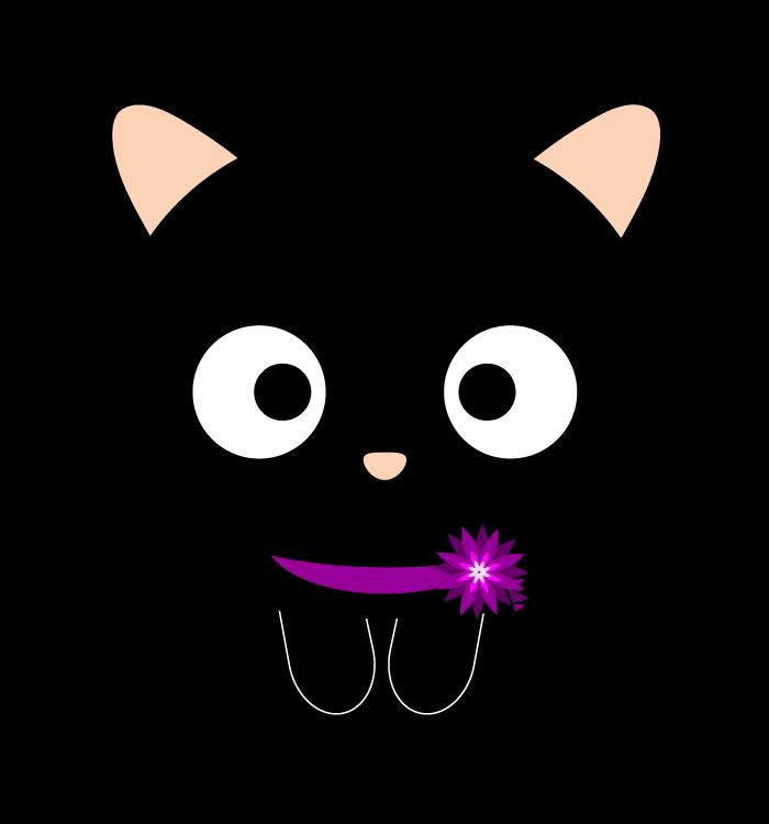 Curious cat clipart picture black and white stock chococat - Buscar con Google | Love it Sanrio!!!! | Pinterest ... picture black and white stock