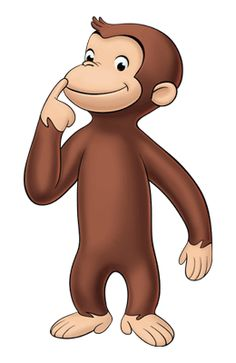 Curious george sledding clipart black and white svg transparent library 8 Best Curious george images in 2017   Curious george ... svg transparent library