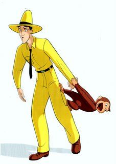 Curious george yellow hat man clipart black and white png transparent library 137 Best Curious George Man with the Yellow Hat images in ... png transparent library