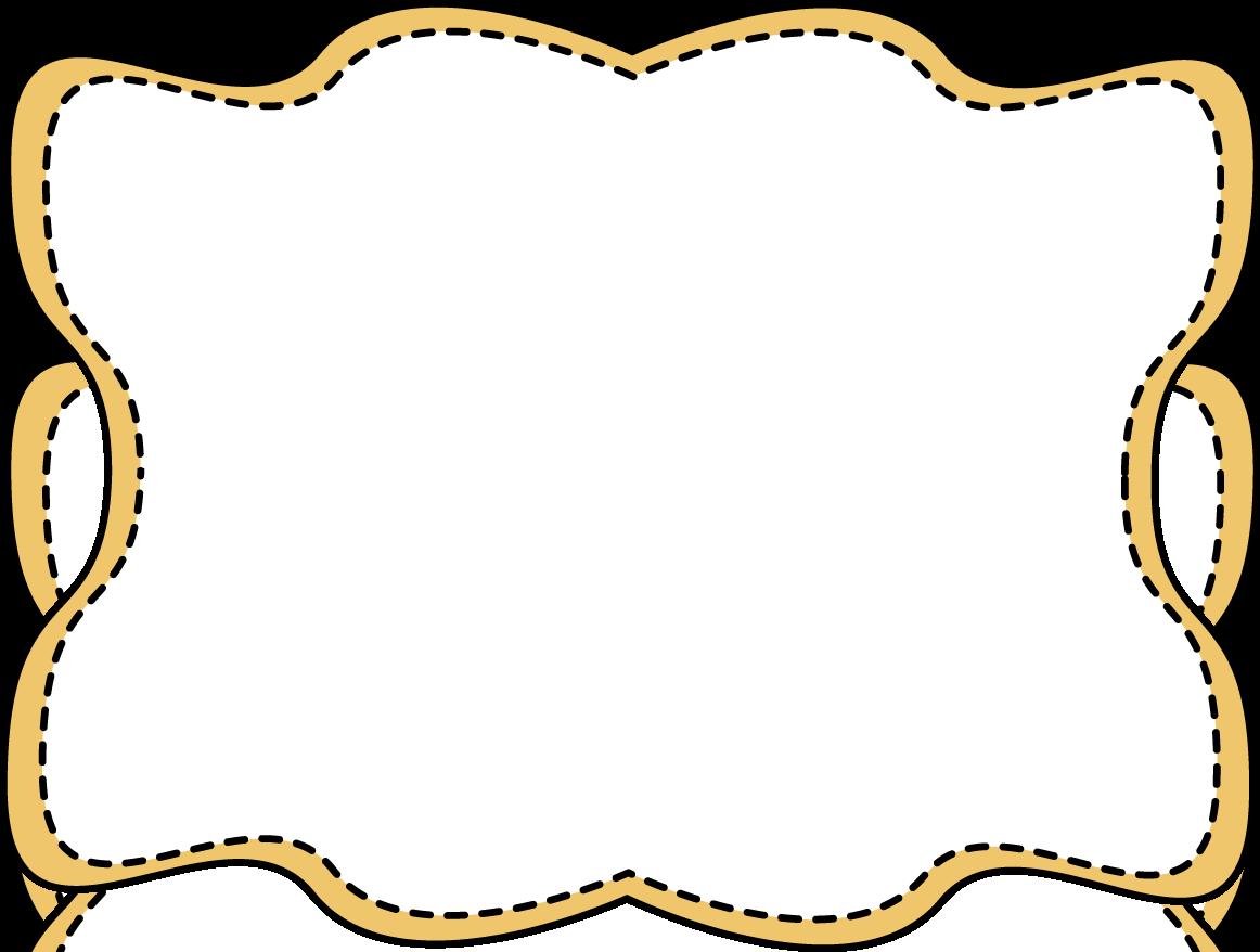 Stitched heart clipart png transparent yellow-wavy-stitched-frame.png (1162×878) | Cricut Ideas | Pinterest ... png transparent