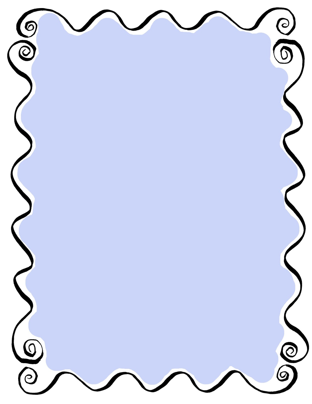 Borders clipart curly, Borders curly Transparent FREE for ... jpg stock