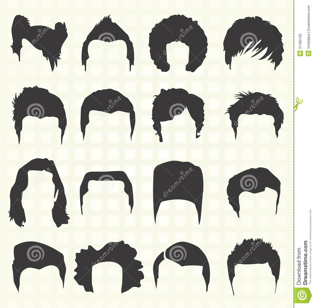 Men hair clipart banner royalty free download guy curly hair wig clipart - Google Search | Comm Art ... banner royalty free download