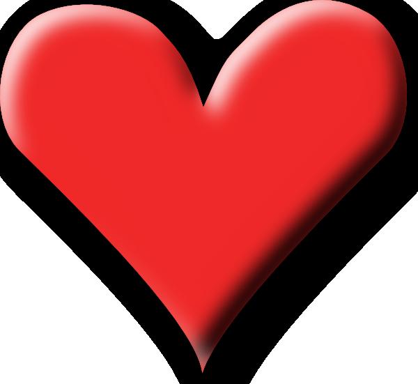 Heart clipart svg clip stock Red Heart Valentine Clip Art at Clker.com - vector clip art online ... clip stock