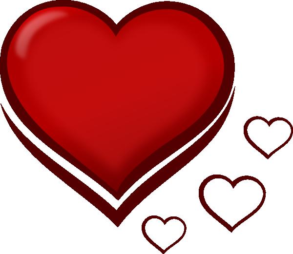 Curly heart clipart clip art free Heart 13 Clip Art at Clker.com - vector clip art online, royalty ... clip art free