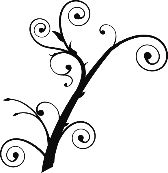 Tree limbs clipart picture stock Curly Tree Clip Art at Clker.com - vector clip art online, royalty ... picture stock