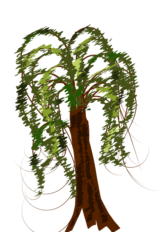 Curly tree clipart svg library download Curly tree clip art 4352783 - billigakontaktlinser.info svg library download