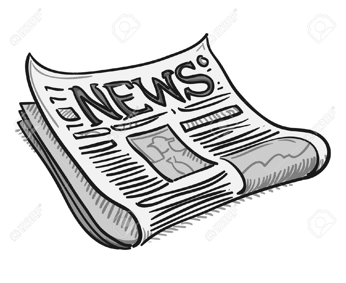 Current news clipart clip art black and white stock Current Events clip art black and white stock
